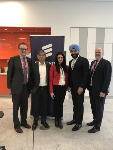 prospectus associates ericsson announces global artificial intelligence accelerator in montreal